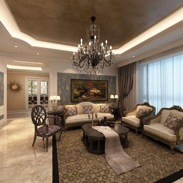 Delightful Rococo Interior Design | Rococo Style Living Room Unique Interior Decoration  Rococo Furnishing ... | Luxurious Living Rooms | Pinterest | Rococo Style,  ...