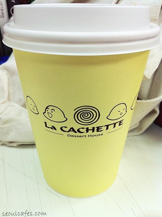 Seoul cafes: La Cachette (dessert house) @ Ichon-dong