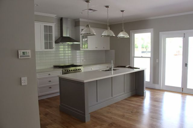 Kitchens Painted Gray grey kitchen paint - home design