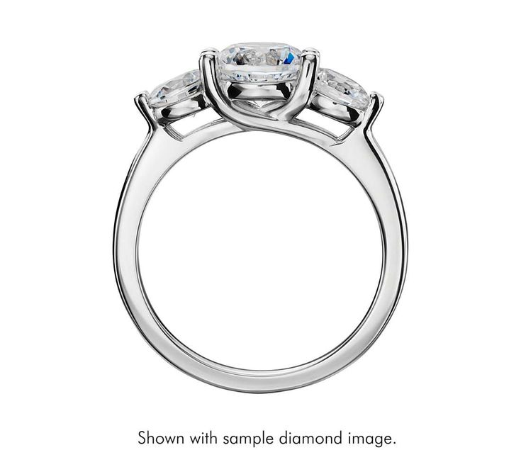 Trellis  Stone Lattice Engagement Rings