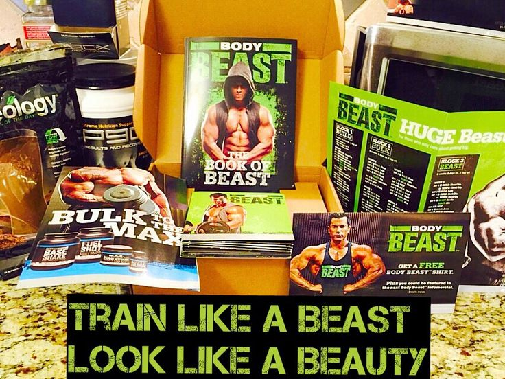 Everything Kelly Jean: Body Beast for Women - Schedule and Equipment