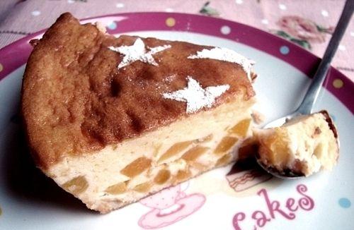 Attention! ce gâteau est un péché à lui tout seul je vous donne ma recette, parcequ'elle le vaut bien il est aux pêches, il est doux et léger il est bon et même trop bon et il est facile à réaliser recette: ingrédients: 4 oeufs 30 gr de farine + 30 gr...