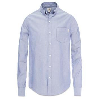 Timberland - Chemise LS Pleasant River Oxford Homme - Coupe Droite