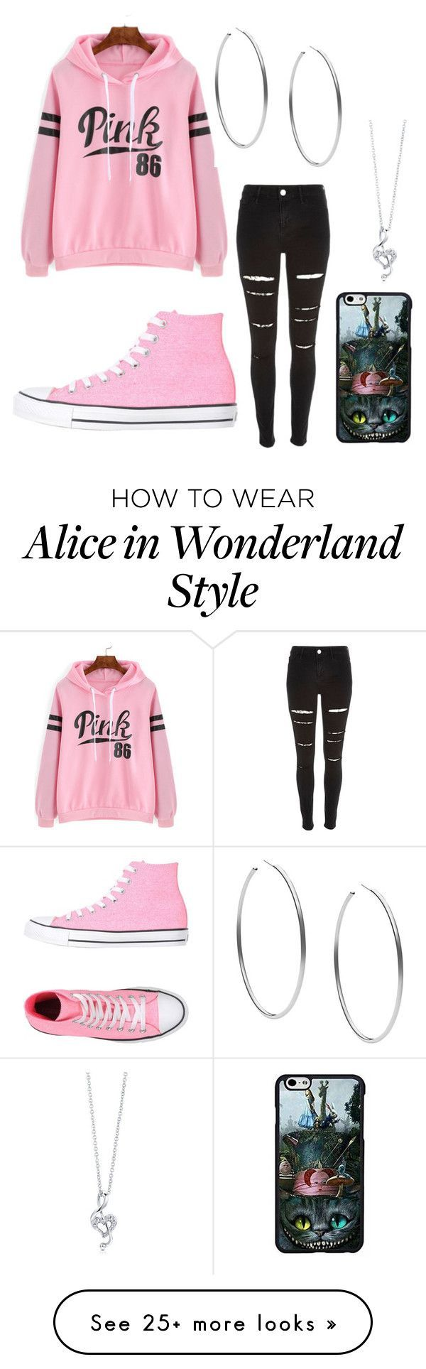 """""""My first set using the app"""" by unique-awesome-xoxo on Polyvore featuring River Island, Converse, BERRICLE, Michael Kors, women's clothing, women, female, woman, misses and juniors"""