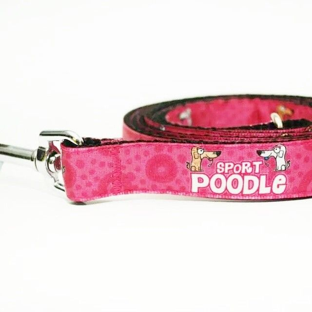 "Vodítko Blackberry ""Sport Poodle"" | Leash by Blackberry ""Sport Poodle"" #leash #pink #poodle #dog #pet #blackberry #handmade #rucni_vyroba #pes #voditko #ruzova"