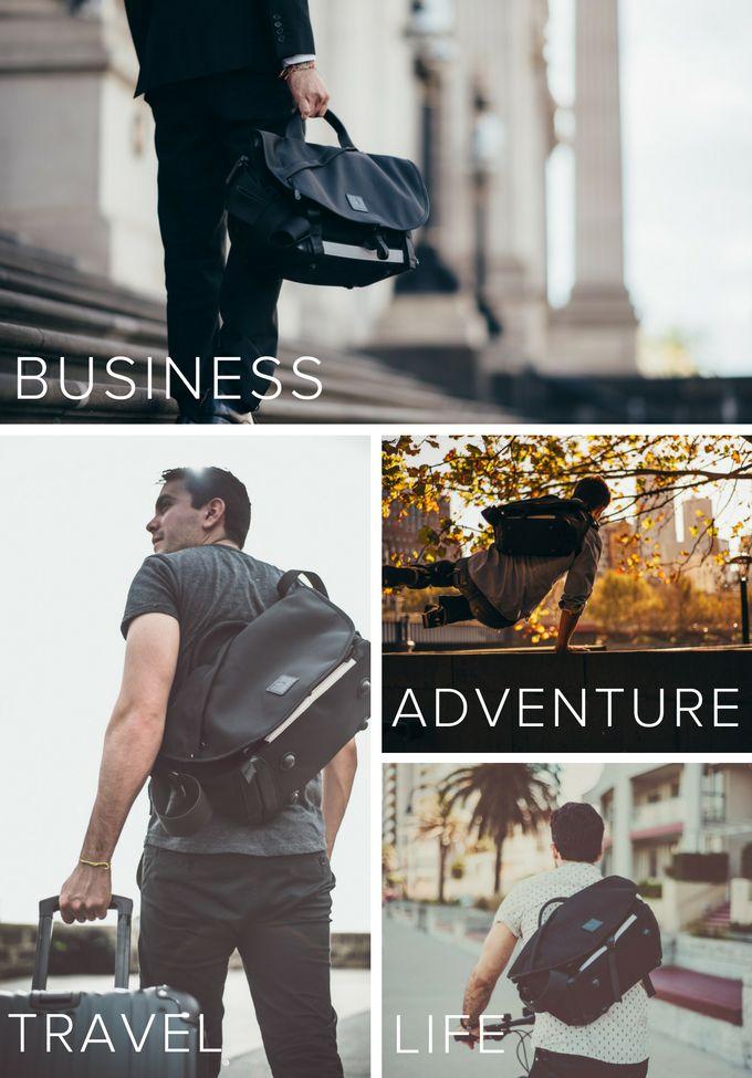 7ven Messenger: The Only Bag You Need. by ALPAKA — Kickstarter