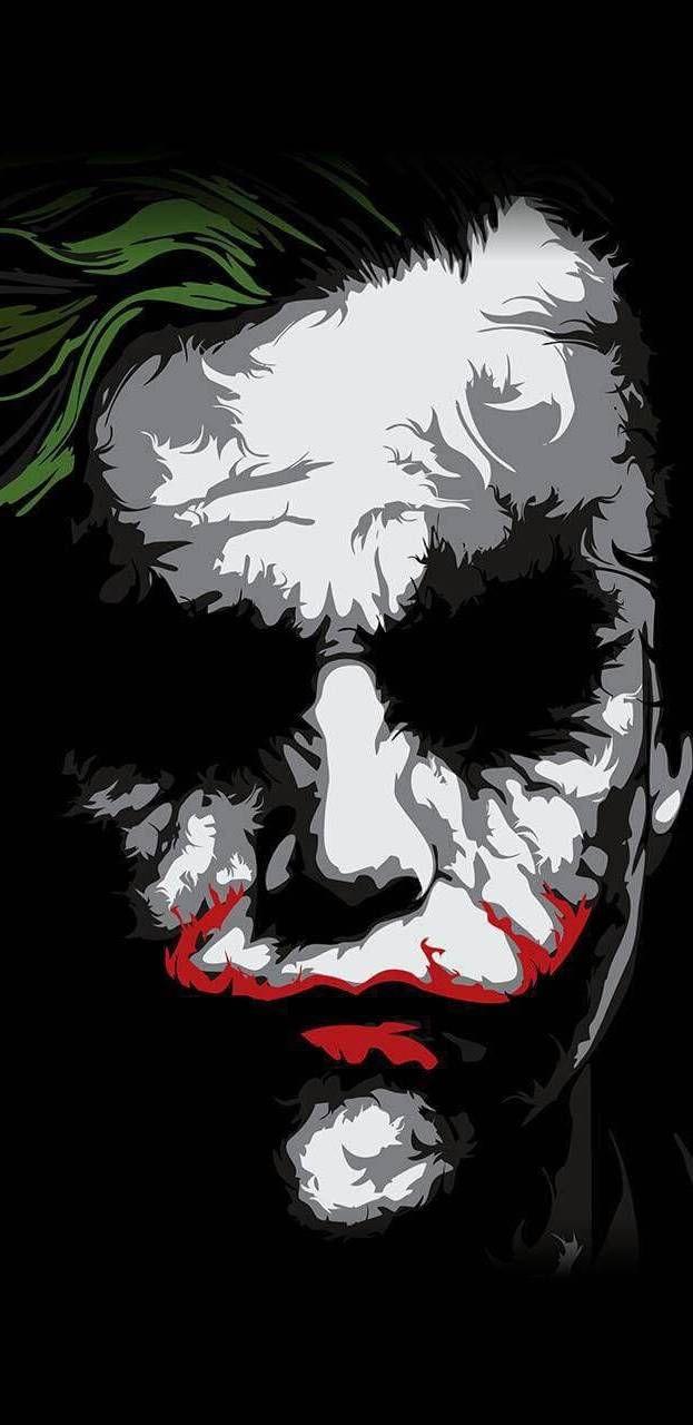 Joker Face Iphone Wallpaper Joker Poster Batman Joker Wallpaper Joker Painting