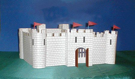 Build a Medieval Castle    Make your own model medieval castle -- a learning activity that teaches about history, feudalism and life in the Middle Ages.