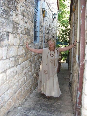 Одежда для полных от Юлии Гурьяновой в стиле бохо. Обсуждение на LiveInternet - Российский Сервис Онлайн-Дневников