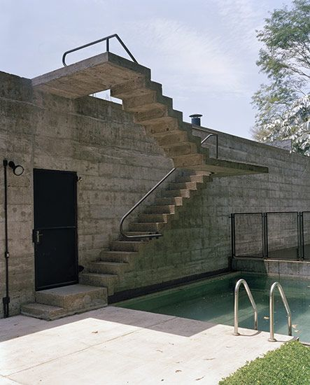 Concrete Stairs Design Ideas Home Stair Picture Exterior