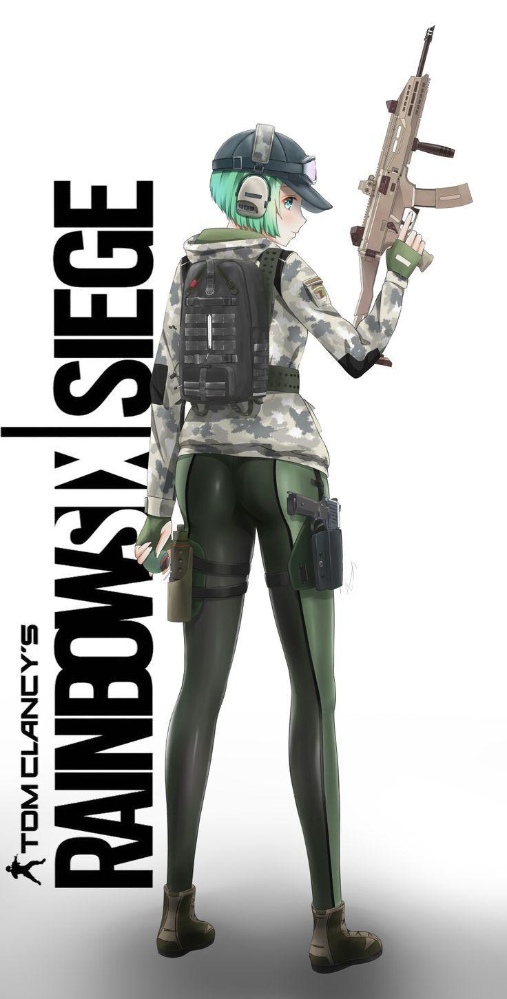 Ela R6 Ubisoft Game Art Sketch Poster Drawing