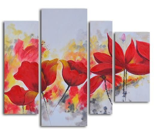 Très joli tableau de fleurs peint main à l'huile à découvrir sur http://tableaux-online.com/tableaux-fleurs/443-tableau-fleur-fresh.html