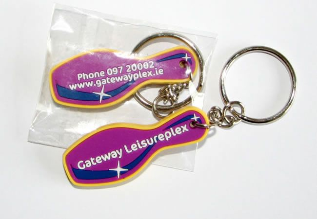 Project: Keyrings Client: Gateway Leisure, Co. Mayo, Ireland.