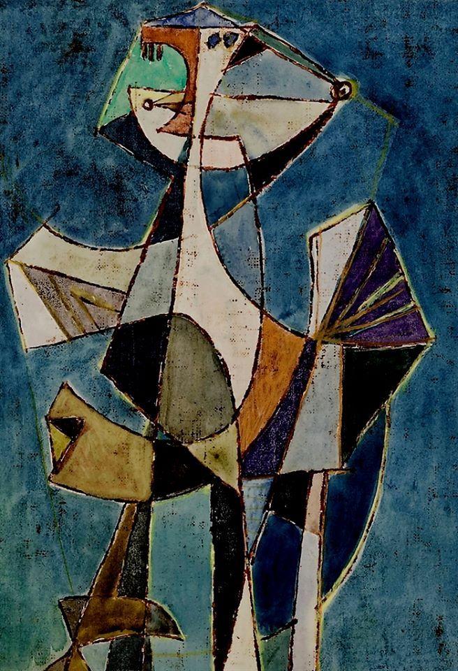 Afro Basaldella   Untitled, 1949