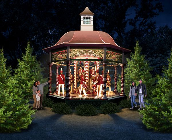 The Dallas Arboretum, 12 Days of Christmas Exhibit, Holiday ...
