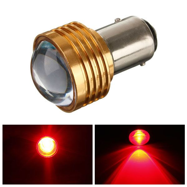 Us 3 45 1157 3w Q5 Red Led Turn Tail Brake Stop 12v Light Bulbs 1157 Bulbs Light Turntailbrakestop