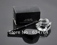1pcs / lot, nuevo Fluidline gel delineador de ojos Negro Will cepillo ! Envío gratis !!