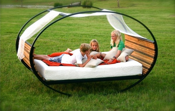 Modern Bed Furniture featuring Mood Rocking Bed Outdoor Use PictureOutdoor Beds, Mood Rocks, Modern Beds, Bedrooms Design, Rocks Beds, Beds Frames, Design Tips, Beds Design, Modern Design
