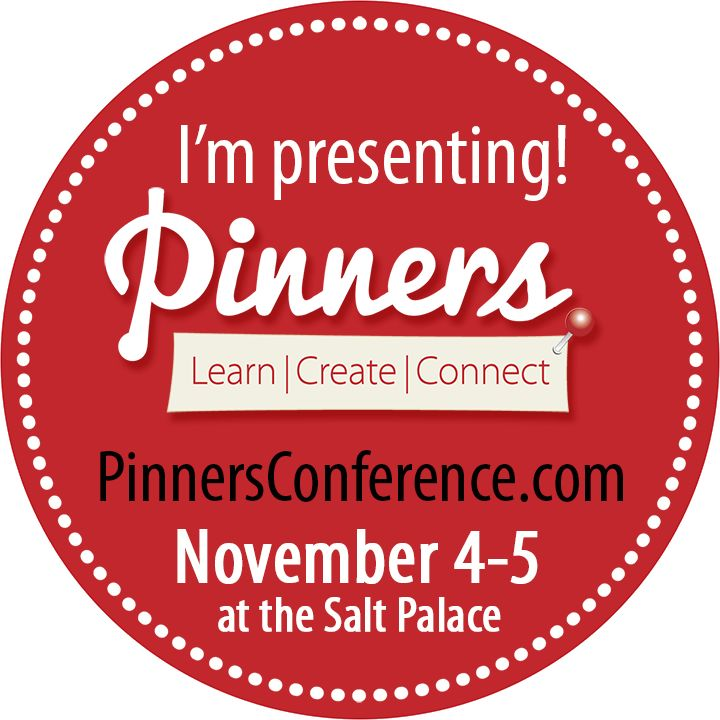 Discount tickets to the Pinners Conference in SLC Utah November 2016