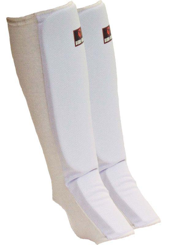 Budo-Nord ben- og vristbeskytter standard - 195,00 DKK Budo-Nord beskytter til skinneben- og vrist i tekstil med perfekt pasform og tæt EVA-polstring. Beskytteren drejer ikke rundt om benet, idet den har elastik på hele bagsiden af benet.