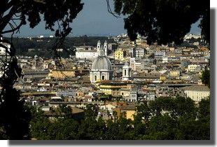Rome vue du ciel, Rome à vol d'oiseau… Lorsqu'on aime les beaux panoramas, on ne compte pas…...