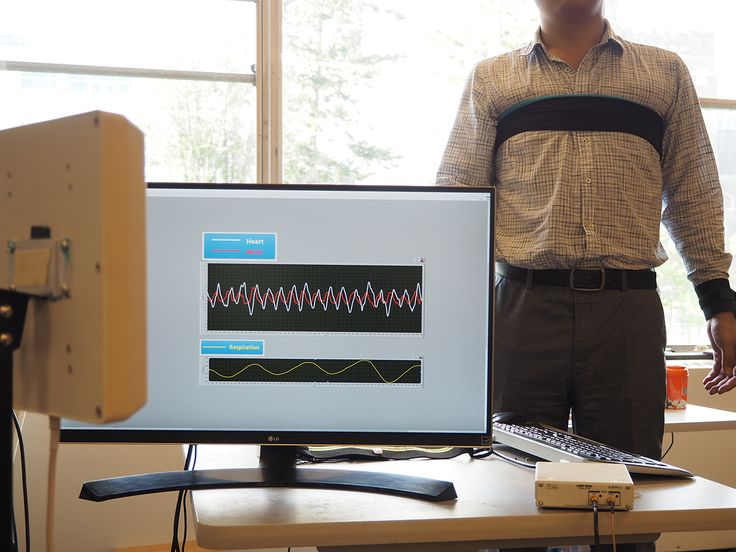 Simultaneous Touchless Monitoring of Several Patients Vital Signs