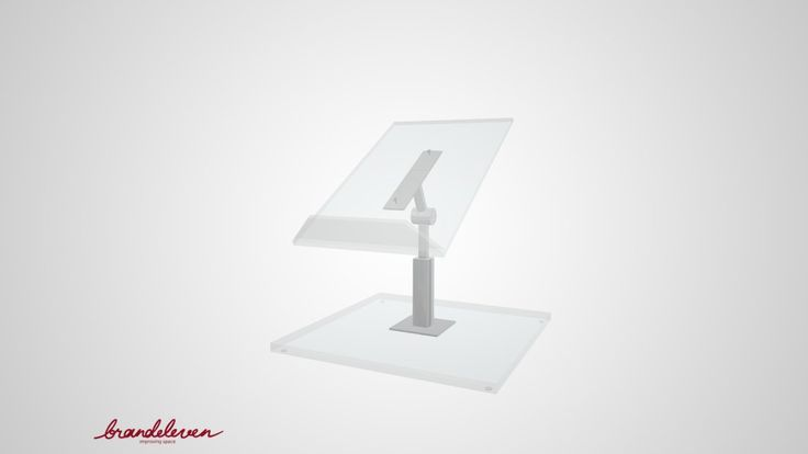 Closed book display for libraries and museums. Display dimensions: 160(l) x 255(w)  Base dimensions: 250(l) x 250(w) Adjustable height and angle. Different sizes available.  Contact for details.