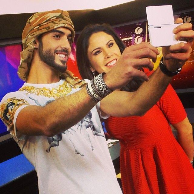 #分享Instagram Taking a selfie after wrappin' our interview ,, #nxmini