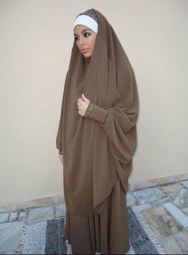 Lovely Muslimah in Jilbab