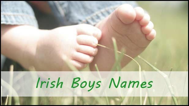 Lovely Irish names for boys