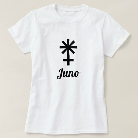 ⚵ Symbol of asteroide Juno T-Shirt - tap, personalize, buy right now!