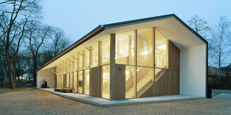 UTArchitects, Conversion of a Farm into Restauration Centre, Berlin (Germany).