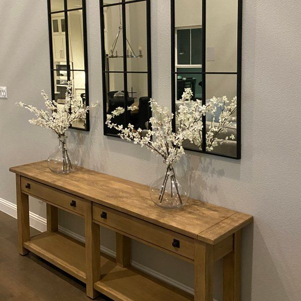 Benchwright 83 Console Table Pottery Barn In 2020 Console Table High Quality Furniture Table