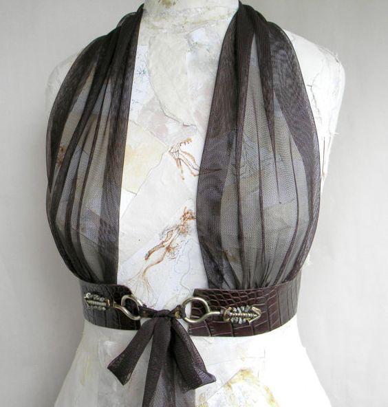 Afbeeldingsresultaat voor how to make a leather sash