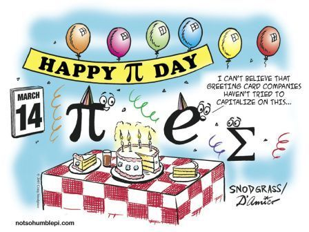 Pi day is almost here... Happy Pi day people!!!