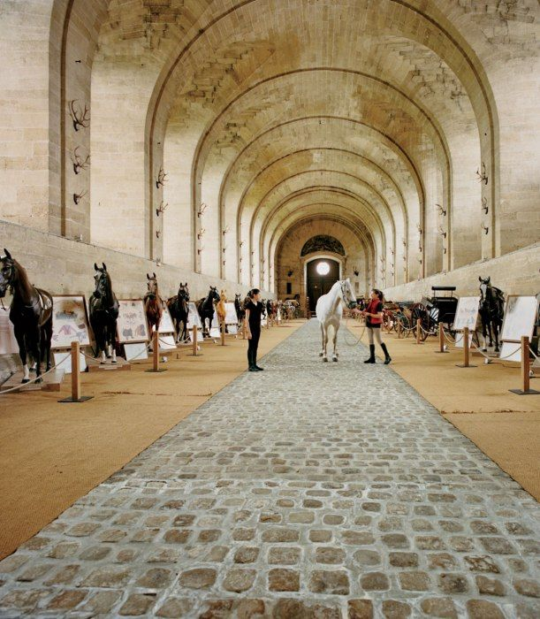 The Great Stables at the Château de Chantilly, arguably the most luxurious stables ever built   Feb 2013