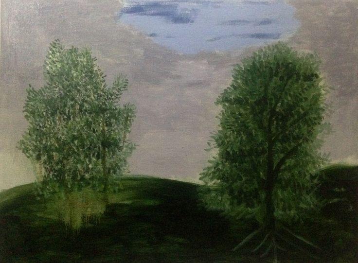 Asturias siesta  Oil on linen  81 x 61