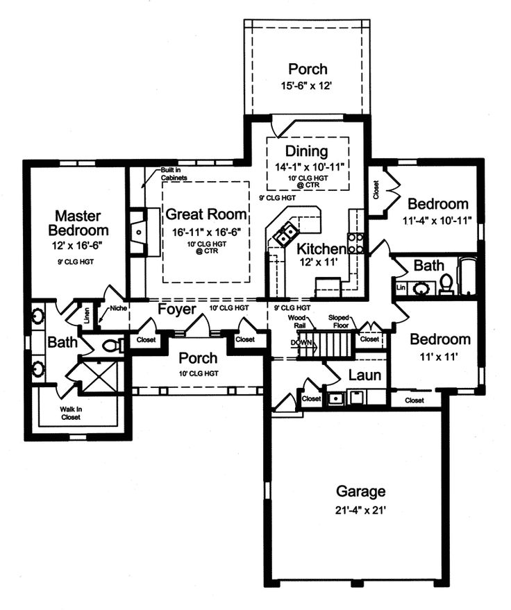 17 best images about floor plans on pinterest house for Open ranch house plans