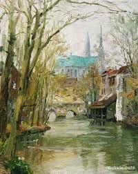"""Résultat de recherche d'images pour """"peinture avec  cathédrale Chartres"""""""