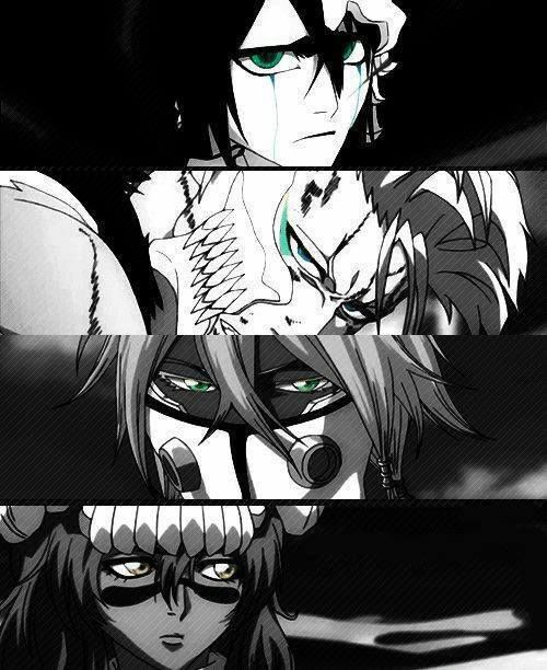 My Favorite Espada: Nel, Halibel, Grimmjow, And Ulquirroa