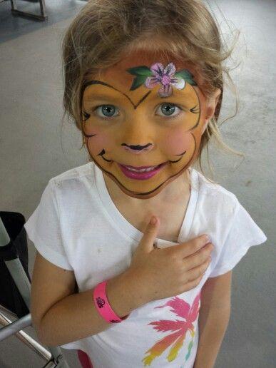 #monkey #facepainting by Linda Schrenk #amazingfacepaintingbylinda…