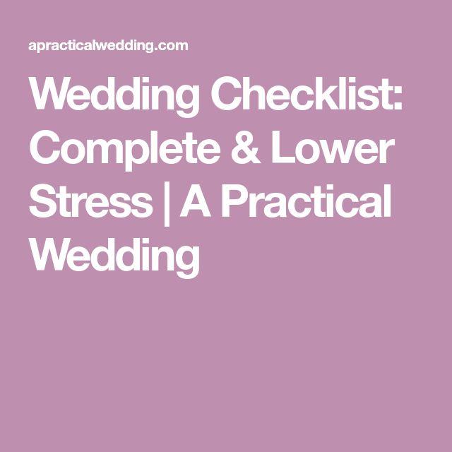 The 25+ best Wedding checklist printable ideas on Pinterest - wedding checklist pdf