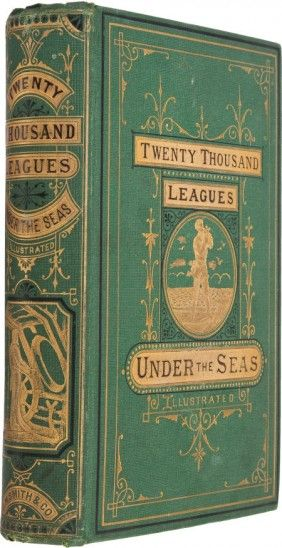 1874 Jules Verne Twenty Thousand Leagues Under the Sea