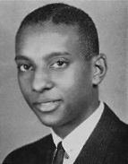 A young Stokely Carmichael, a Civil Rights activist, and graduate of Howard University