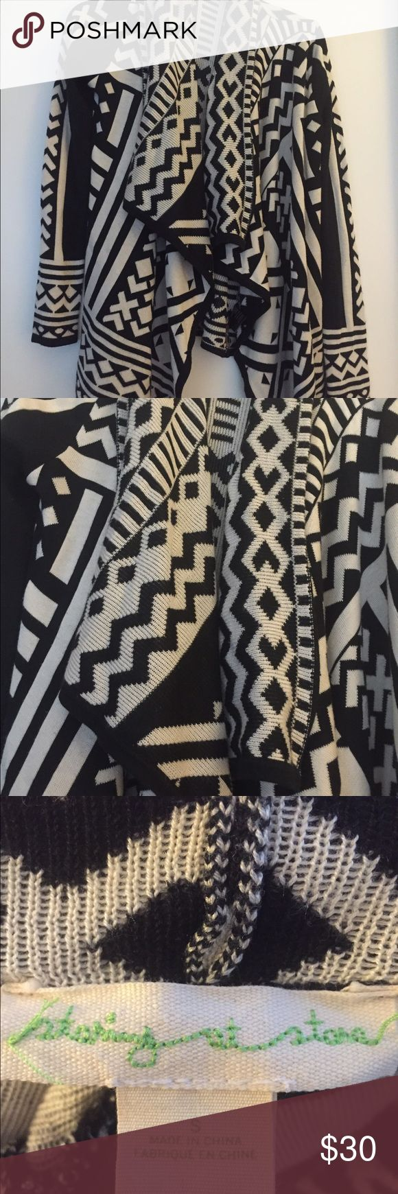 Urban outfitters staring at stars cardigan Adorable tribal print cardigan. New condition! Staring at Stars Sweaters Cardigans