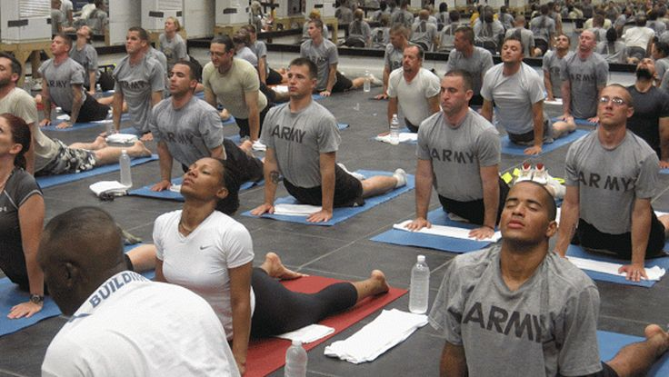 WARRIORS FOR HEALING | JUNE 28, 2015 | Operation: Yoga. ...  Studies and testimonials confirm that yoga and meditation are successful healing modalities for trauma. A growing body of research is showing that this is true for our veterans, proving to be one of the most effective ways to relieve post-combat trauma and bring new strength to people serving in the military. Post Traumatic Stress Disorder (PTSD) is one of the most common challenges our veterans face after serving our country…