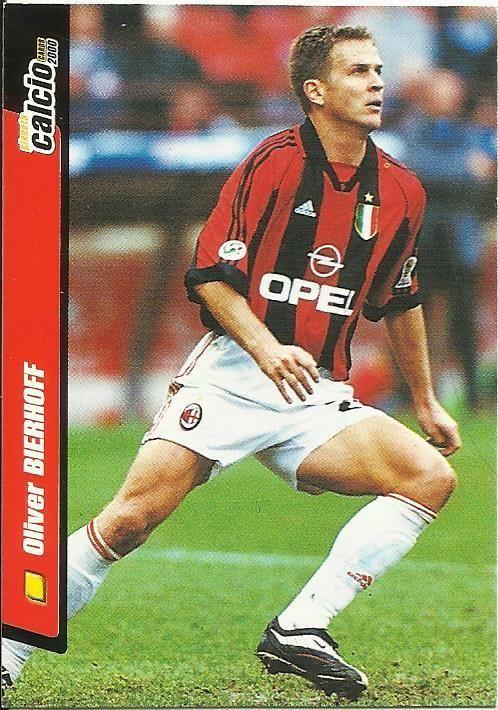OLIVER BIERHOFF - MILAN - CALCIO 2000 -