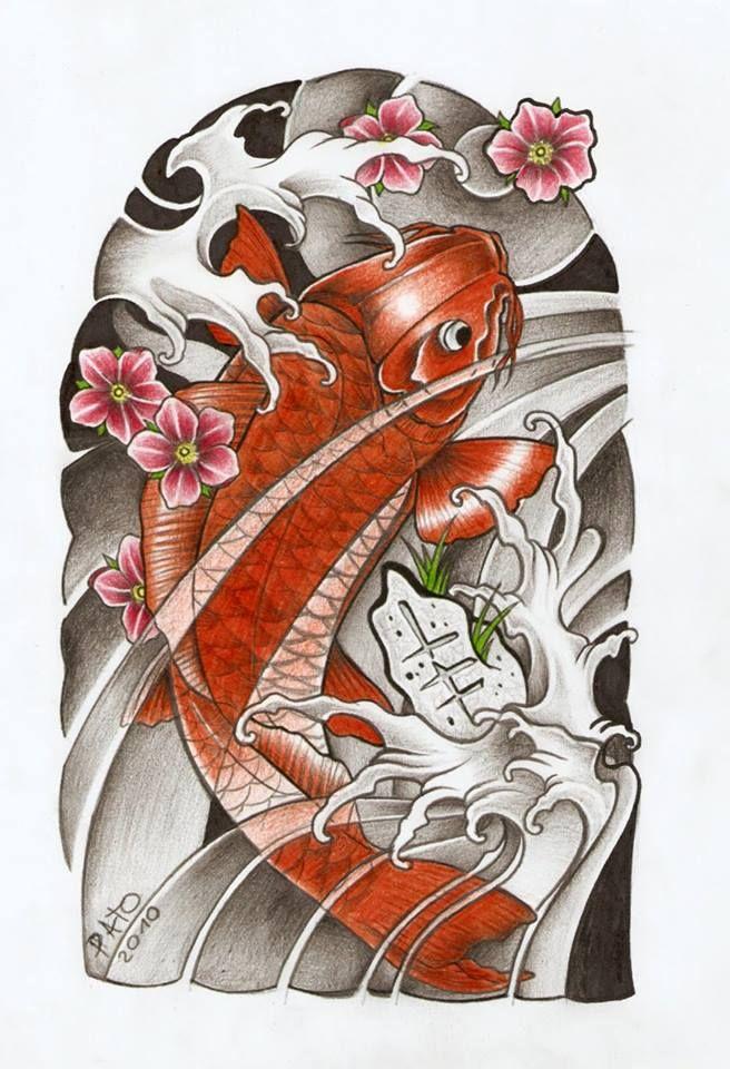 Best 25 carpa oriental tattoo ideas on pinterest koi for Japanese koi fish tattoo