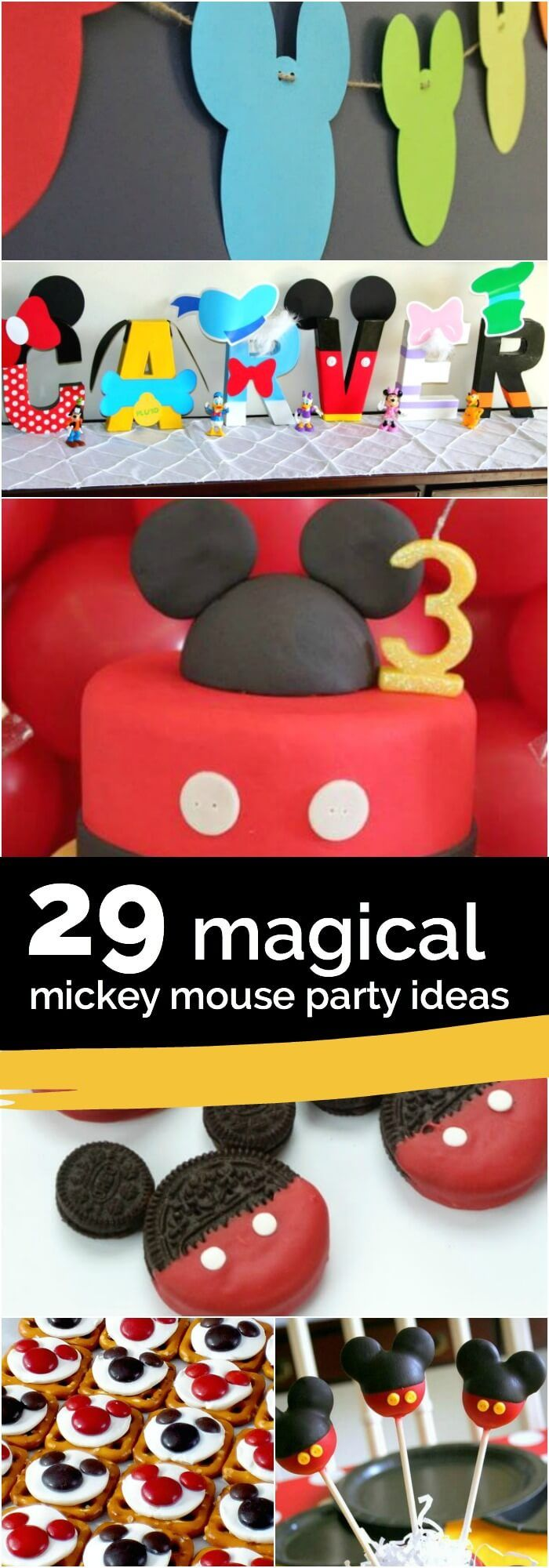 29 Magical Mickey Mouse Party Ideas                                                                                                                                                                                 More