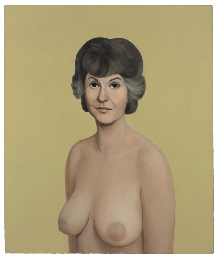 2013-05-14-Lot13CurrinBeaArthurNaked1.jpgNude Bea Arthur Painting By John Currin Sells For $1.9 Million At Christie's Auction